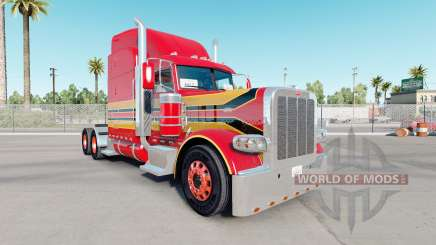 Skin Baby Red on the truck Peterbilt 389 for American Truck Simulator