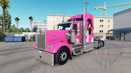 Skin Nico on the truck Kenworth W900 for American Truck Simulator