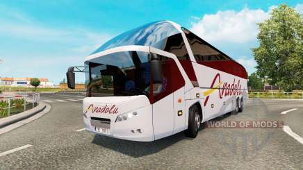 Bus traffic v1.7 for Euro Truck Simulator 2