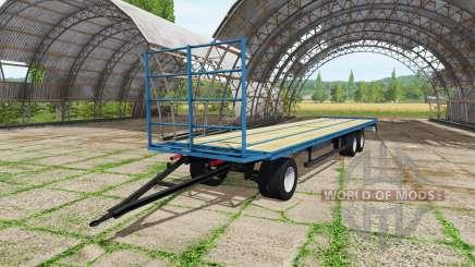 Ballen trailer v1.0.0.3 for Farming Simulator 2017