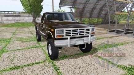 Ford F-150 1985 for Farming Simulator 2017