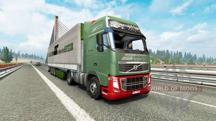 Painted truck traffic pack v3.2 for Euro Truck Simulator 2