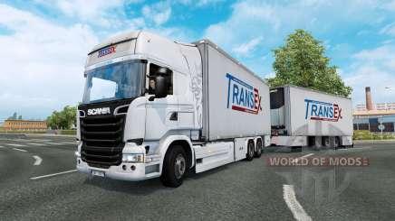 Tandem truck traffic v1.5 for Euro Truck Simulator 2