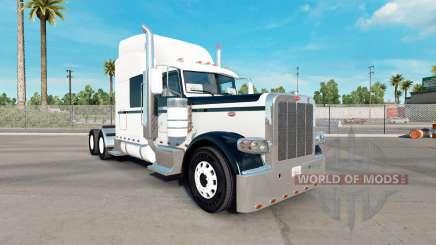 Skin Black & White for the truck Peterbilt 389 for American Truck Simulator