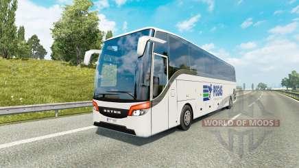 Bus traffic v1.8.1 for Euro Truck Simulator 2