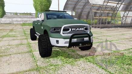 Dodge Ram 1500 Crew Cab for Farming Simulator 2017