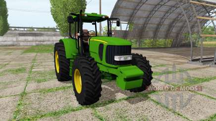 John Deere 6180J v2.0 for Farming Simulator 2017
