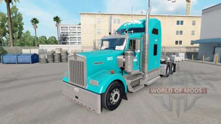 Skin Tum on the truck Kenworth W900 for American Truck Simulator