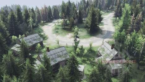Forest trails v2.0 for Spin Tires