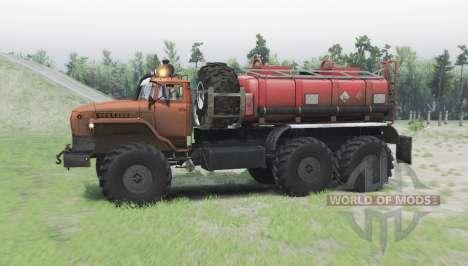 Ural 4320 Polar Explorer for Spin Tires