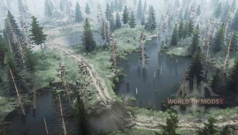 The force of the river 2 - Straseni for Spintires MudRunner