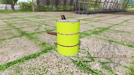 Barrel weight multicolor for Farming Simulator 2017