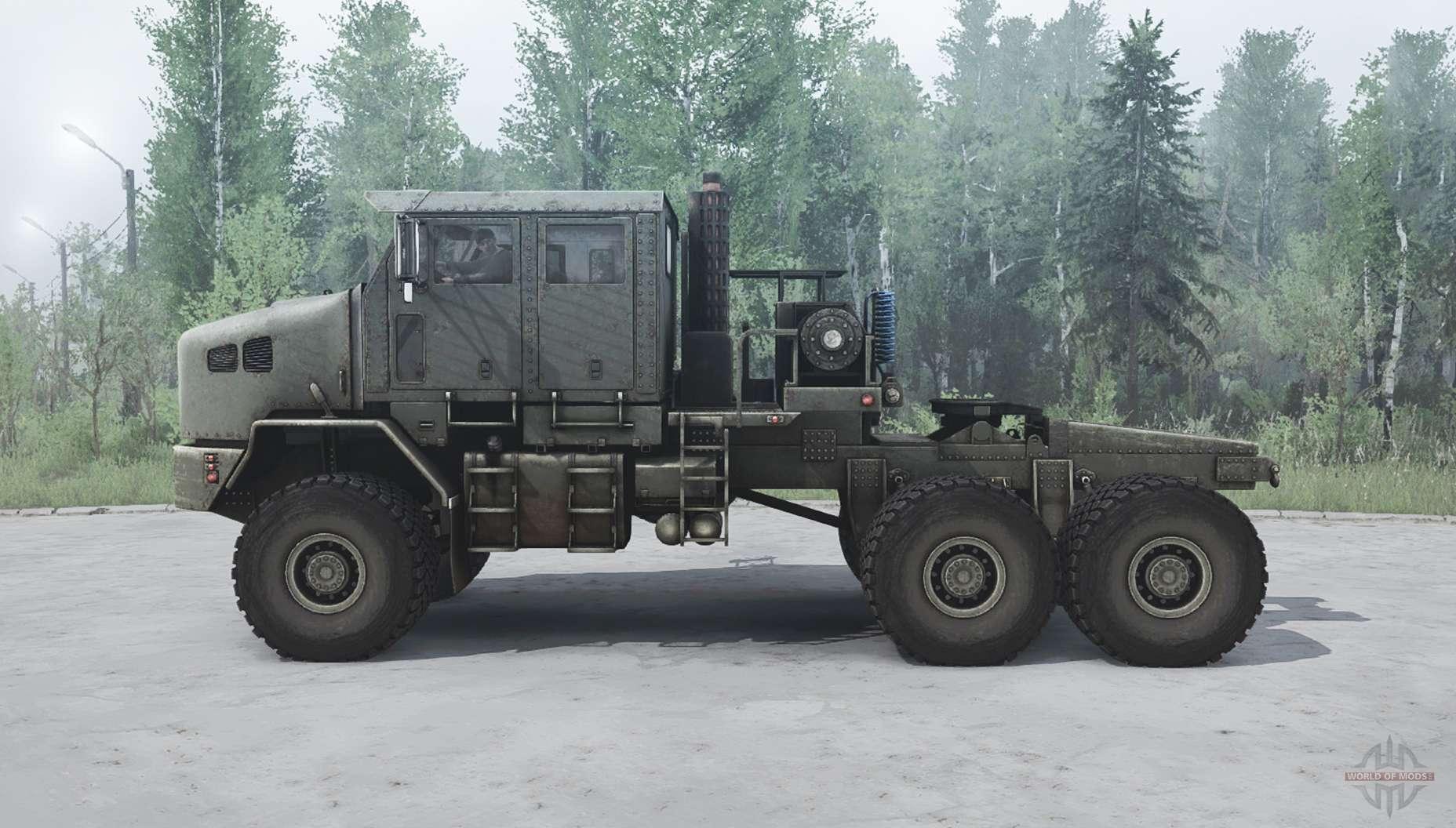 Oshkosh Het M1070 For Mudrunner