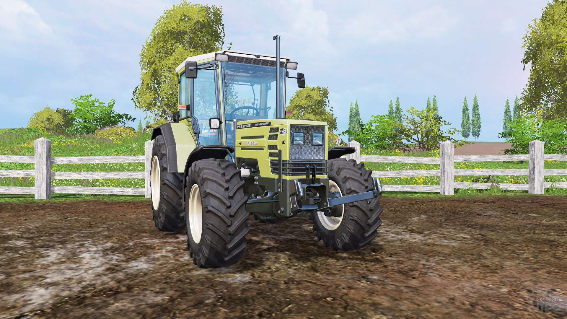 Hurlimann H488 Turbo Prestige for Farming Simulator 2015