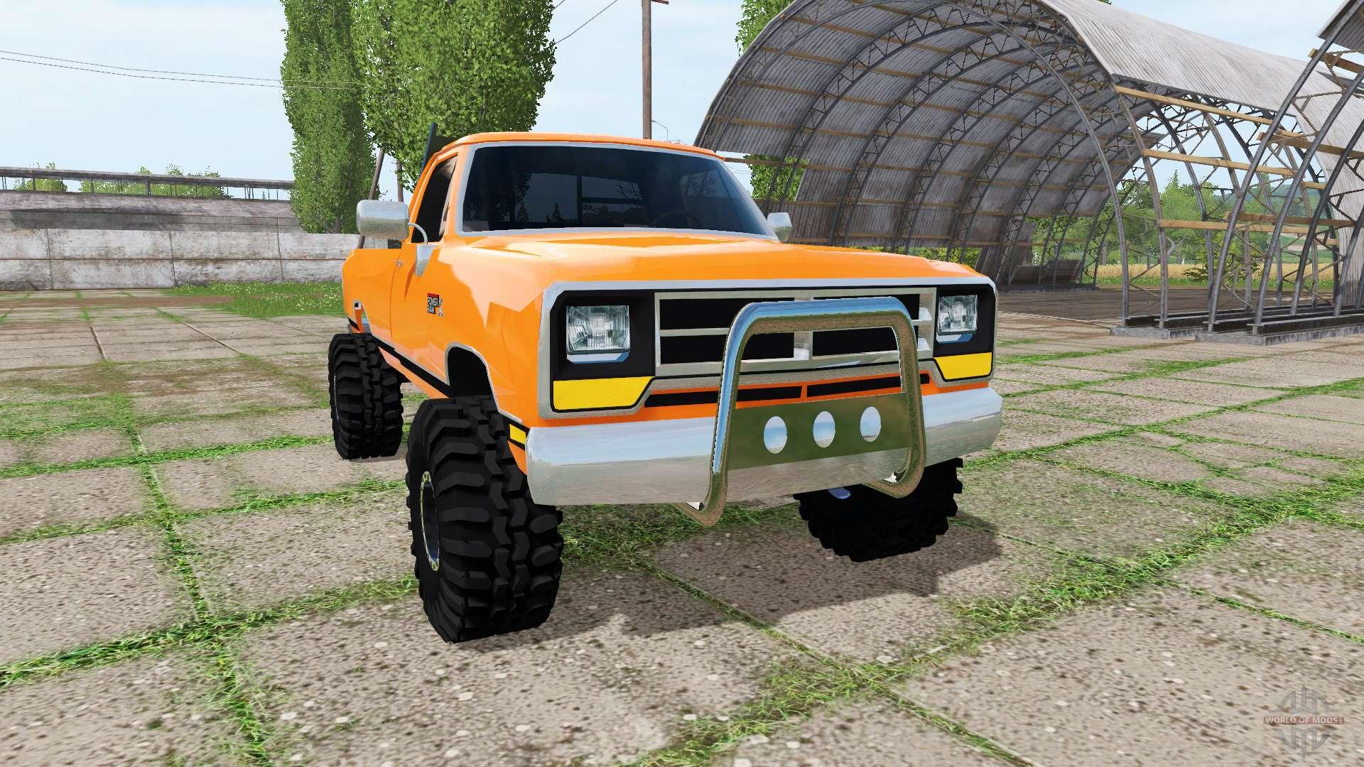 Scrap Metal Pick Up >> Dodge Power Ram for Farming Simulator 2017