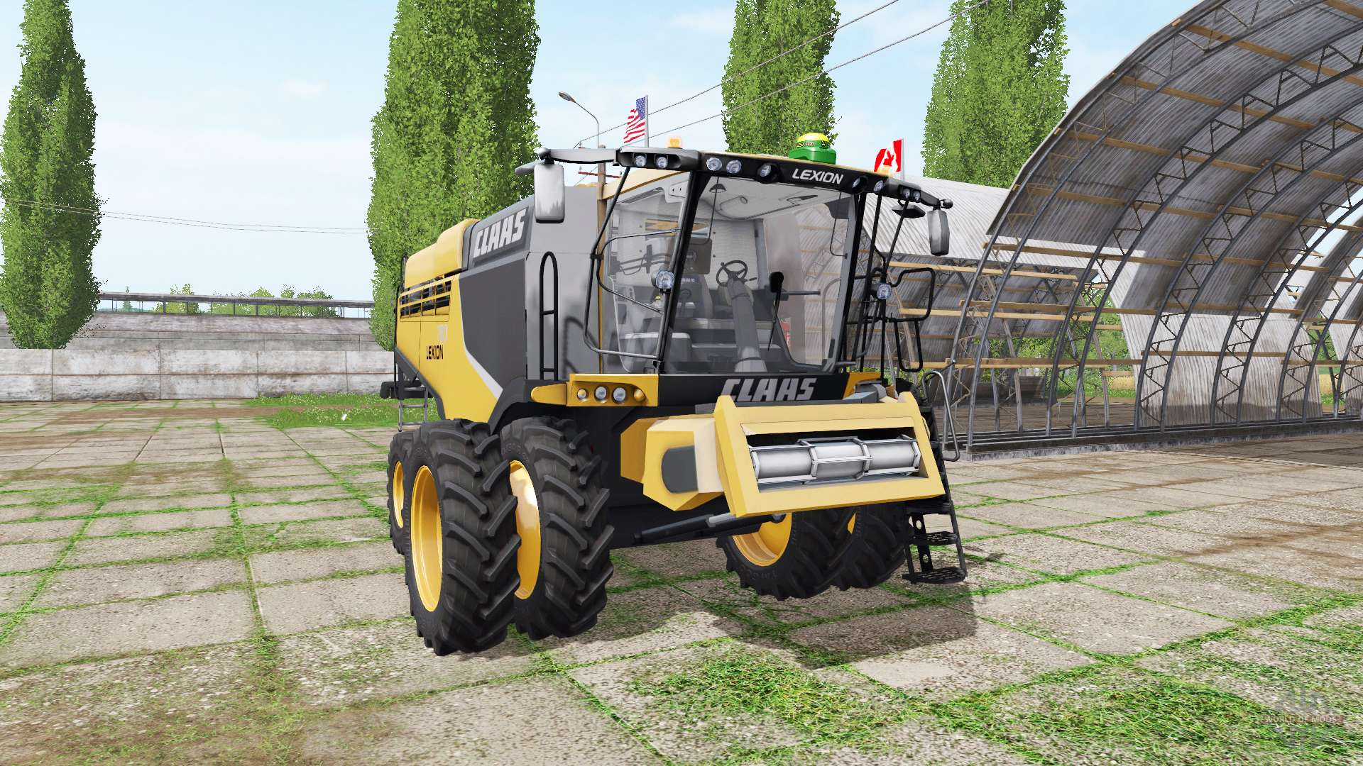 John Deere Model B >> CLAAS Lexion 780 north america for Farming Simulator 2017