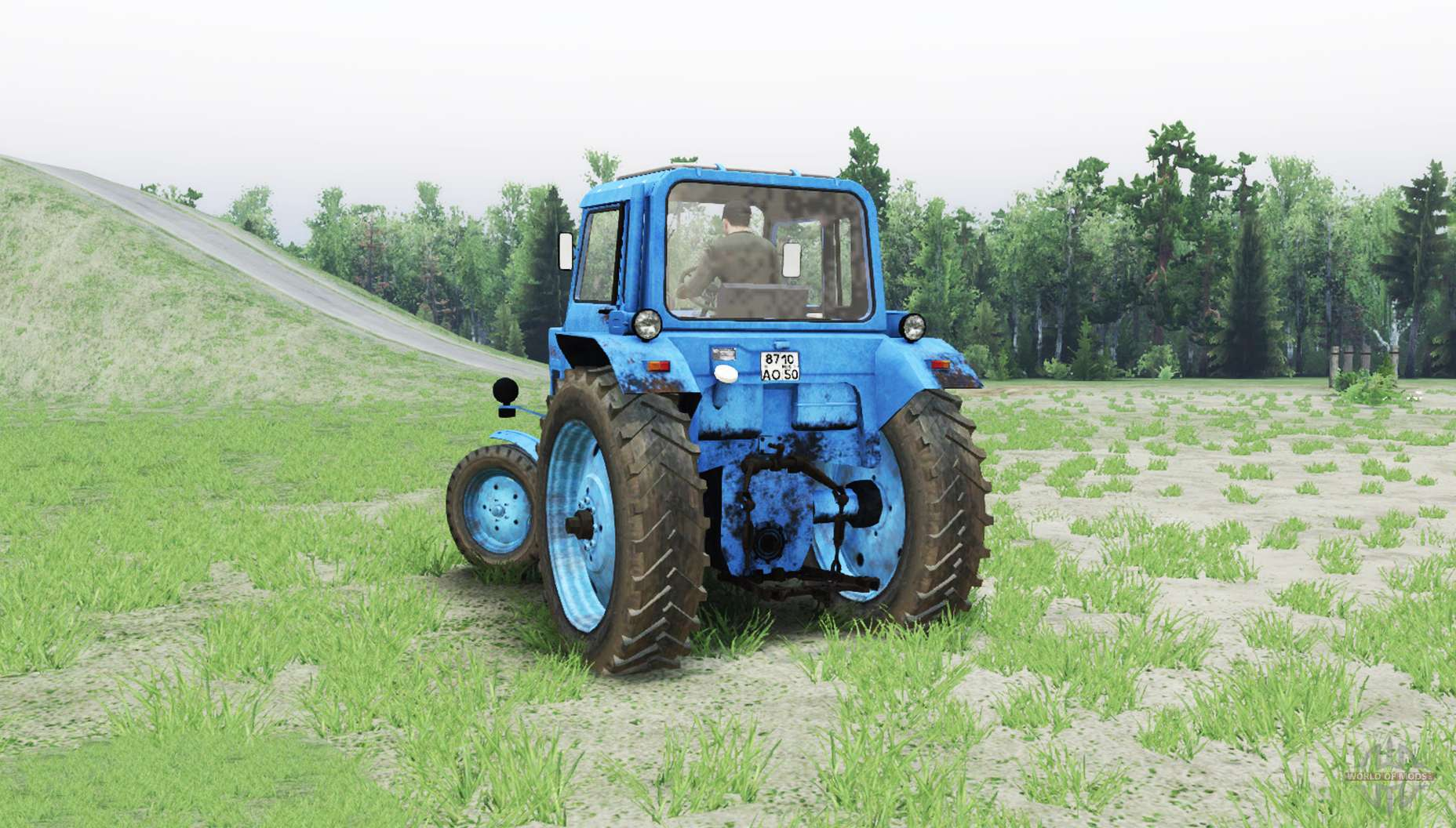 mtz 80 belarus for spin tires rh worldofmods com