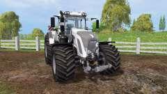 Fendt 933 Vario white for Farming Simulator 2015