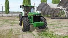 John Deere 8410 v3.3.6.9 for Farming Simulator 2017
