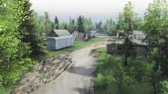 Trigorskoe forestry for Spin Tires
