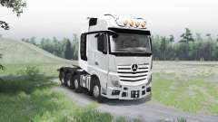 Mercedes-Benz Actros (MP4) 8x8