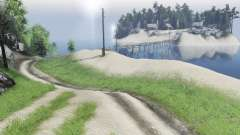 Island for Spin Tires