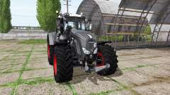 Fendt 924 Vario black beauty v3.7.7 for Farming Simulator 2017