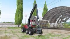 Komatsu 941 for Farming Simulator 2017