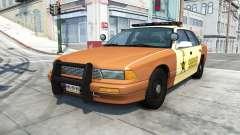 Gavril Grand Marshall sheriff v1.5 for BeamNG Drive