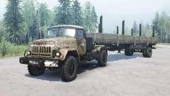 ZIL 131 4x4 for MudRunner