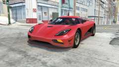 Koenigsegg Agera R for BeamNG Drive