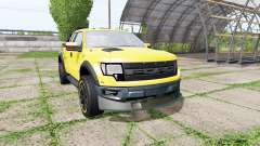 Ford F-150 SVT Raptor v2.0 for Farming Simulator 2017