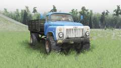 GAZ 53 4x4 v2.0 for Spin Tires
