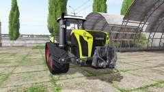 CLAAS Xerion 4000 TerraTrac v1.2 for Farming Simulator 2017