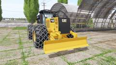 Caterpillar 555D v2.0 for Farming Simulator 2017