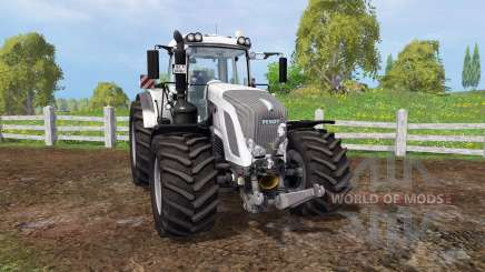 Fendt 933 Vario white for Farming Simulator 2015
