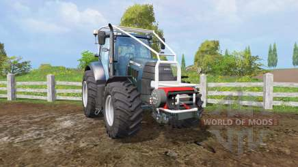 Case IH Puma 160 CVX forest for Farming Simulator 2015