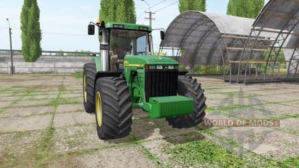 John Deere 8410 v3.3.6.9 for Farming Simulator 2017