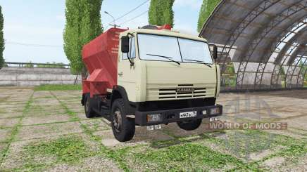 KAMAZ 43253 ZSK v1.5 for Farming Simulator 2017