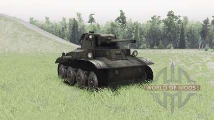 Light Tank Mk.VII Tetrarch for Spin Tires