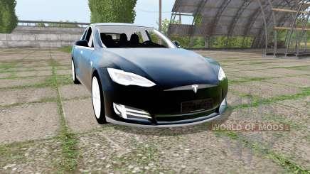Tesla Model S 2017 for Farming Simulator 2017