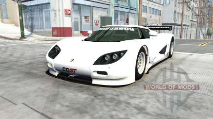 Koenigsegg CCGT 2007 for BeamNG Drive