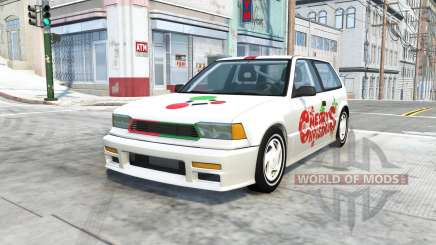Ibishu Covet christmas v1.1 for BeamNG Drive