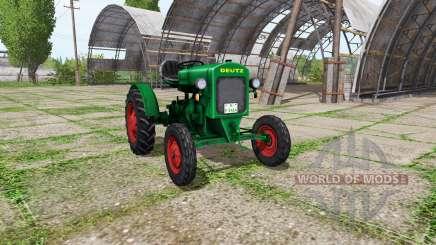 Deutz F1 M414 v0.1 for Farming Simulator 2017