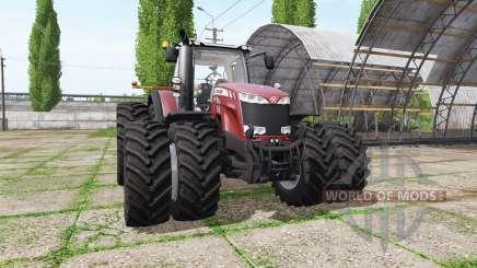 Massey Ferguson 8737 v3.0.2 for Farming Simulator 2017