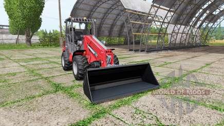 Weidemann 1070 CX 50 v1.1 for Farming Simulator 2017