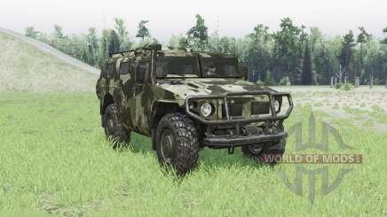 GAZ 2330 Tiger for Spin Tires