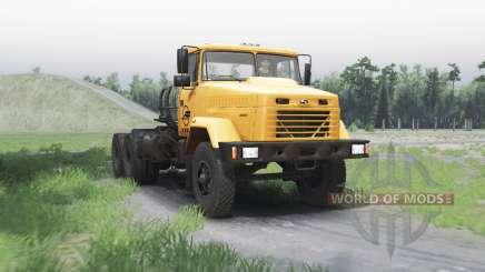 KrAZ 64431 for Spin Tires