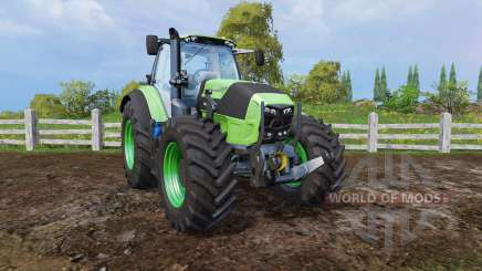Deutz-Fahr Agrotron 7250 front loader for Farming Simulator 2015