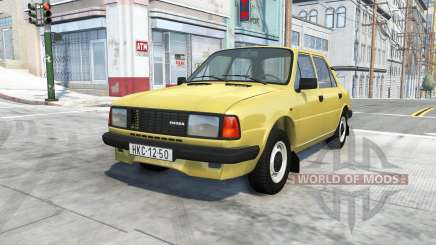 Skoda 130 (Type 742) for BeamNG Drive